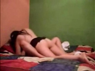 Two latina lesbians get down to it