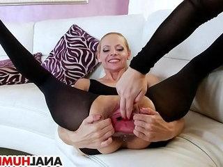 Stunning lesbian ass fisting babes