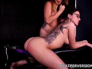 Lesbian BDSM Lezdom Pussy tease Roxanne Rae