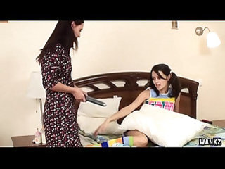 WANKZ Amber And Trenina Lez Out In Knee High Socks