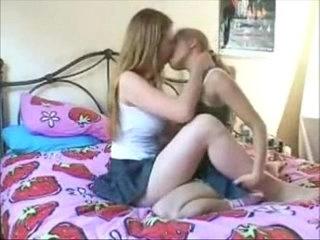 lesbian kissing passionately busty goddesses